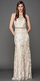 Boat Neck Shiny Rose Lace Long Formal Prom Dress #a445