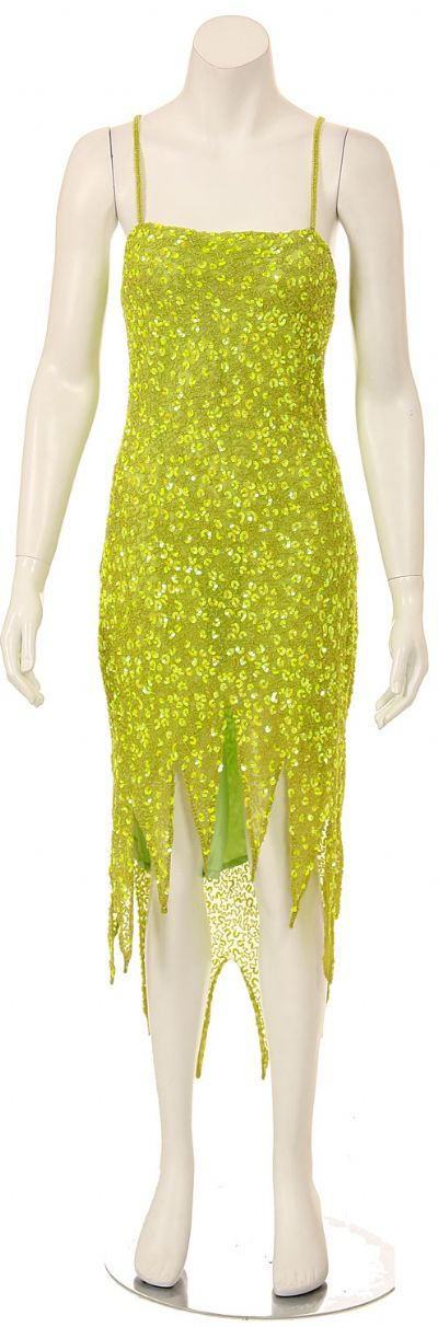 Fully Beaded Spaghetti Strap Sequined Formal Dress
