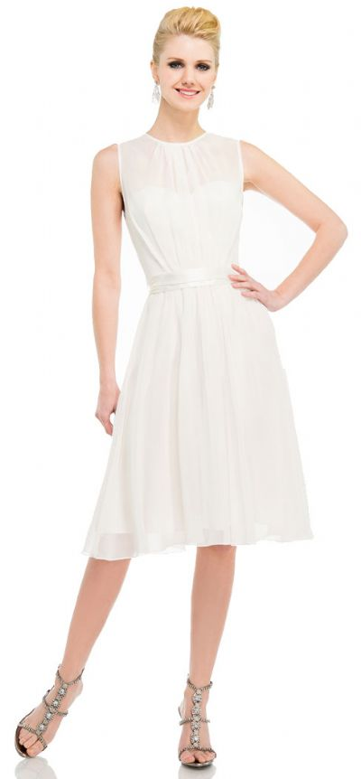 Princess Cut Sleeveless Graduation Party Dress