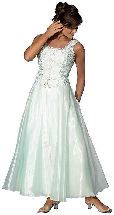 A Line Lace Formal Prom Dress
