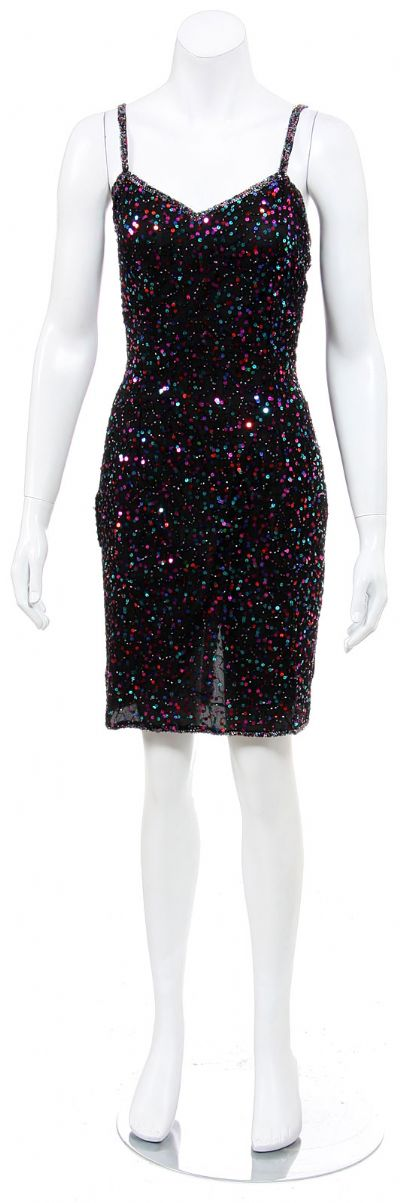 Party Short Dress Fully Sequined