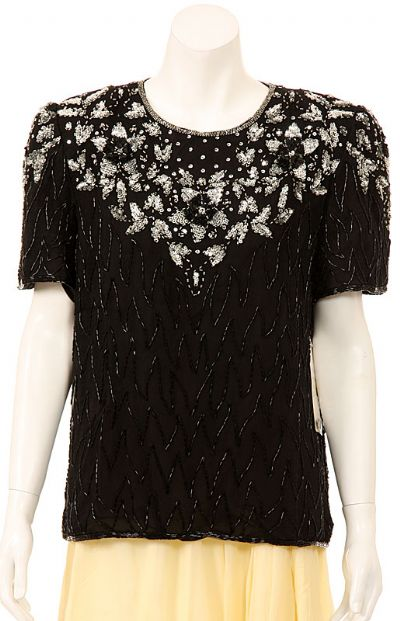 Classy Sequined Designed Blouse