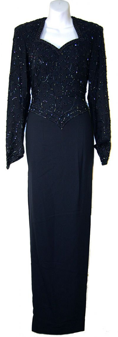 Full Sleeved Formal Mother of the Bride Dress