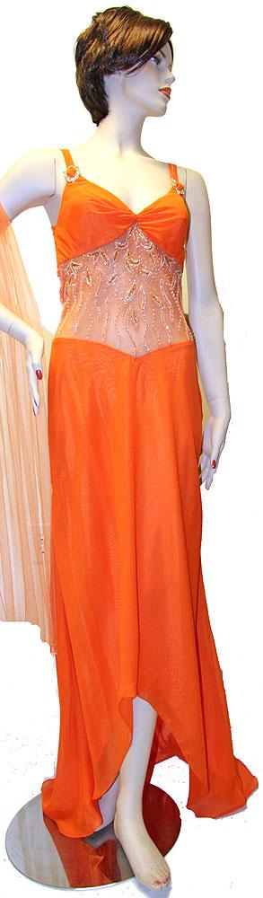 Custom Made Prom Dresses - Prom Dresses Orange