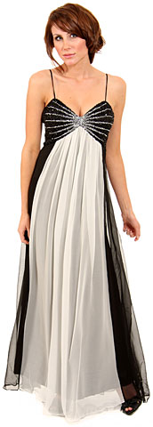 Two Tone Butterfly Top Formal Formal Dress. 1094.