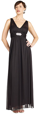Empire Cut Shirred Brooch Homecoming Homecoming Dress. 11157.