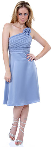Ravishing One-Shoulder Graduation Graduation Dress. 11273.
