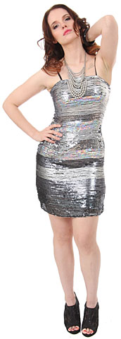 Horizontal Pattern Sequins Homecoming Party Dress . 1149.
