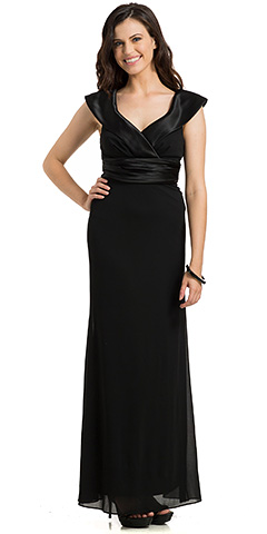 Sabrina Neck Pleated Evening Evening Gown. 11783.