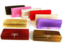 Satin Evening Bag. 419r.