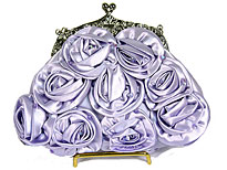 Royal Bloosom Evening Bag. 499f-lc.