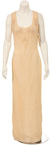 Full Length Sleeveless Formal Dress
