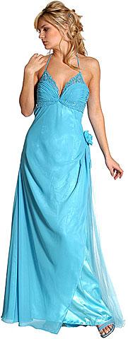 9177897e07d7 Single Long Sleeve Glittery Lurex Formal Evening Dress.  11796.  75.00.  Single Flower Beaded Formal Dress. c27777.