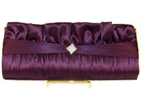 All Occasion Satin Evening Bag. hy4893.
