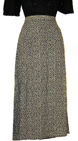 Printed Design Polyester Skirt