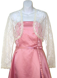 Lace Bolero Jacket. 1003.