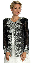 Handmade Sequin Beaded Jacket. 1289.