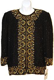 Gold Pattern Border Style Jacket . 3221j.