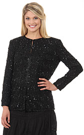 Round Shaped Beaded Design Jacket. 3251.