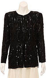 Sequin Beaded Jacket. 3252.
