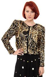 Gold Leaf Style Jacket . 3266j.