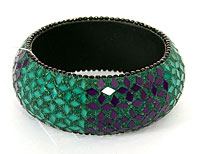 Handmade Multi-toned Bracelet. POB-03479K.