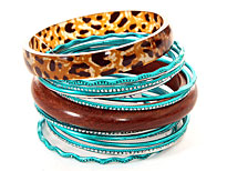 Set of 16 Piece Bangles. pob-05075.
