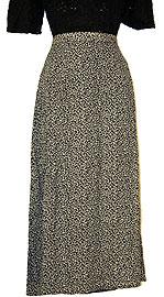 Printed Design Polyester Skirt. sk-102.