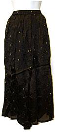 Long Skirt with Design. skt-02.
