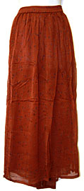 Long Skirt with Design. skt-03.