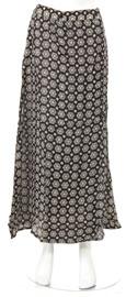 Full Length Blossomed Flower Skirt. skt-h.